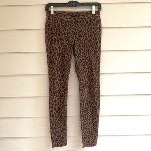 Hue Dark leopard print jeggings